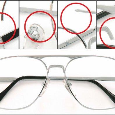 Brillenreparatur