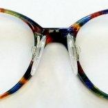 Kunststoffbrille mit Seitenstege